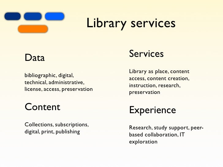 academic libraries and technology essay The impact of new information technology on the library and information science curriculum development at the  the specialists for libraries and.