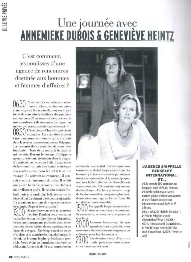 Agences de rencontres belgique