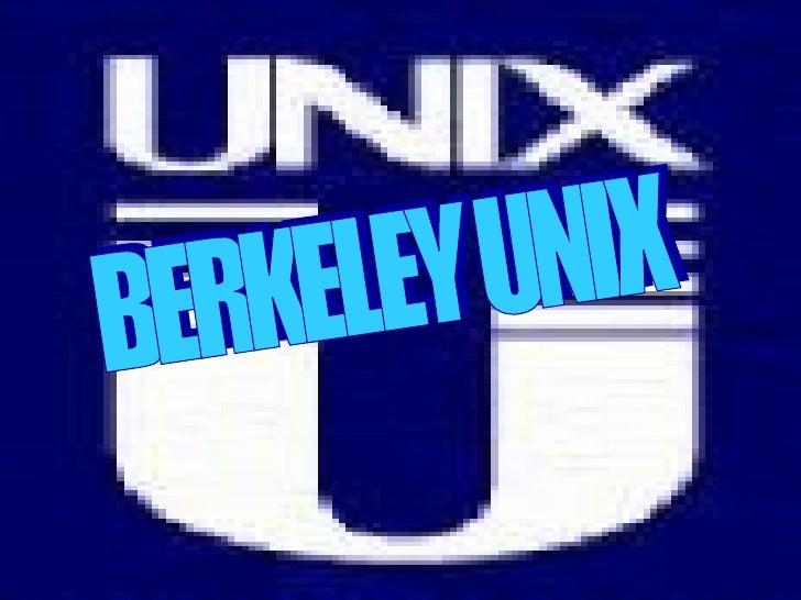 BERKELEY UNIX