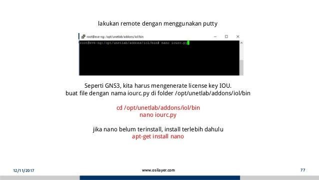 Unetlab vs gns3