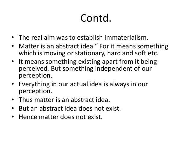 Berkleys critique of abstract idea (3)