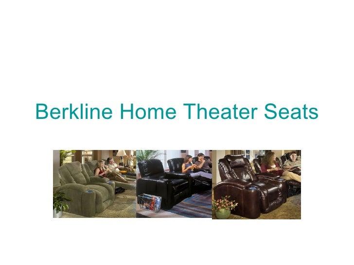 Berkline Home Theater Seats
