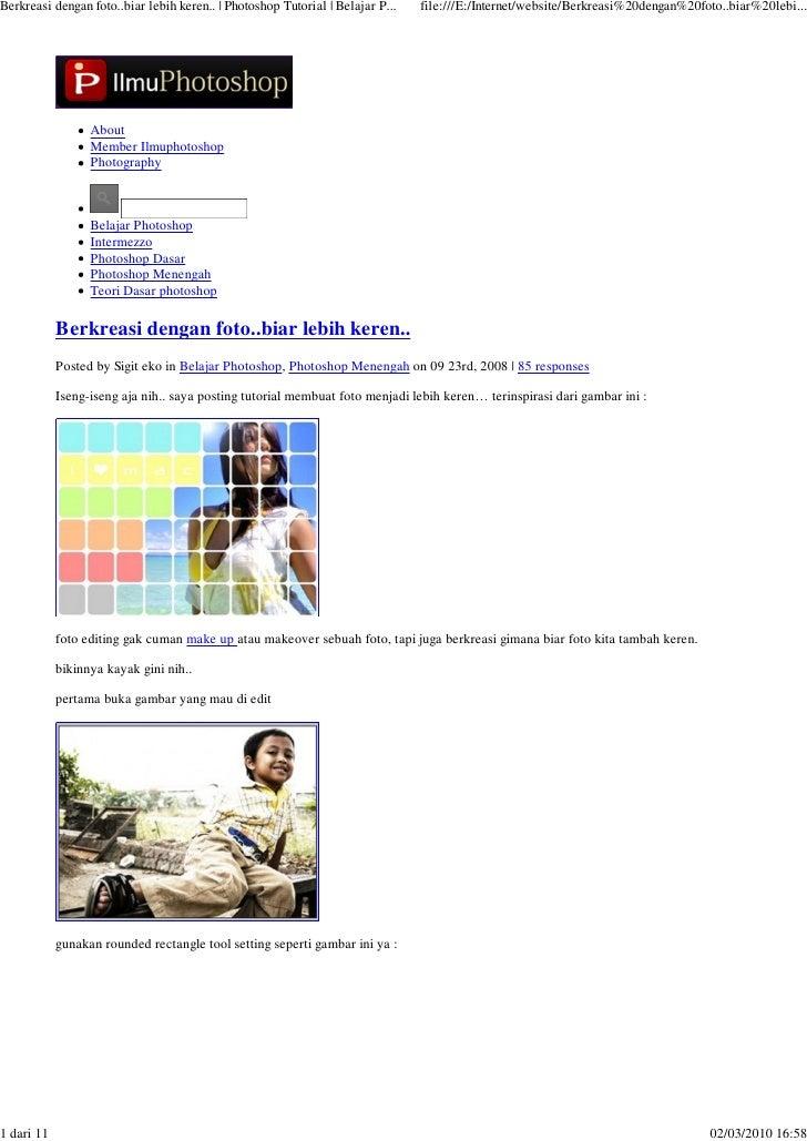 Berkreasi dengan foto..biar lebih keren.. | Photoshop Tutorial | Belajar P...   file:///E:/Internet/website/Berkreasi%20de...