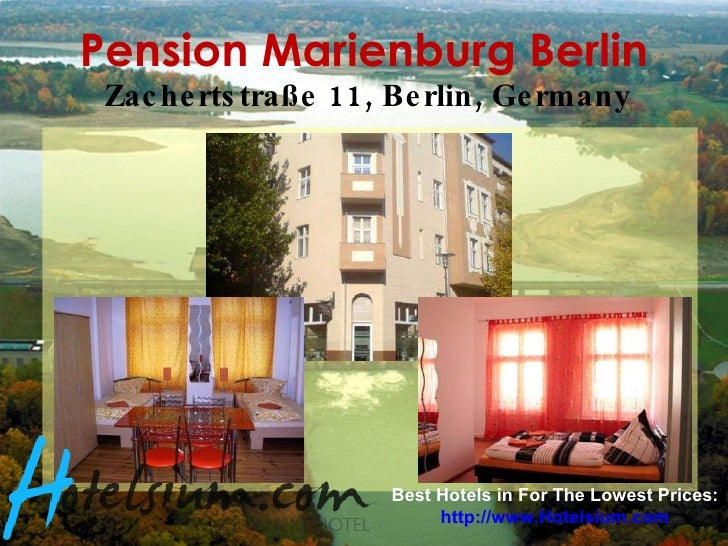 Berlin - 5 Recommended Cheap Hotels in Berlin, Germany