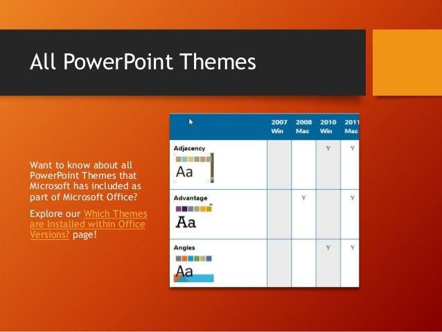 themes office com