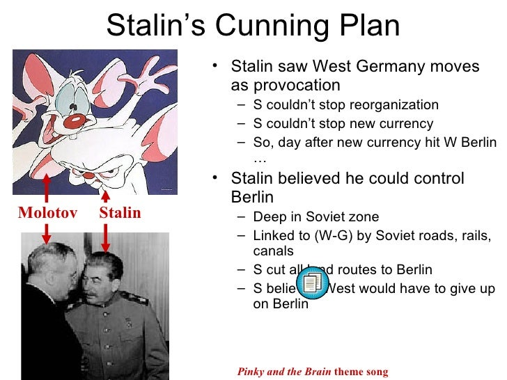 why did stalin blockade berlin in 1948 essay To what extent was stalin to blame for the berlin crisis 1948-9 essay stalin to blame for the berlin crisis 1948 to what extent was stalin to.