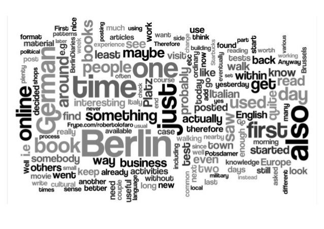 #BerlinDiaries a personal journey through the new nervous centre of Europe v2.0 Aleph123
