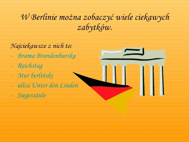 Berlin i jego zabytki - prezentacja Slide 3
