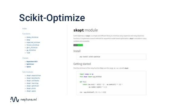 Scikit-Optimize