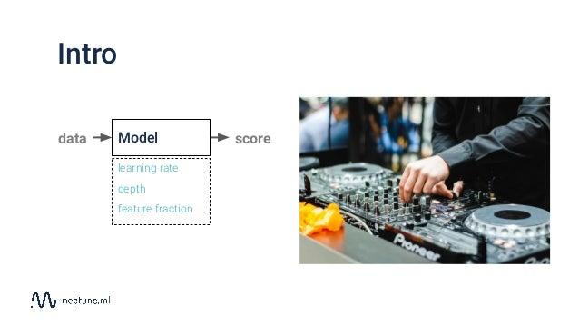 Hyperparameter optimization landscape Berlin ML Group meetup 8/2019 Slide 3