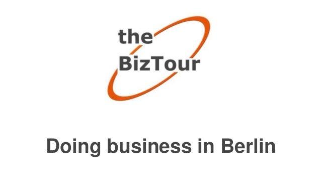 Doing business in Berlin