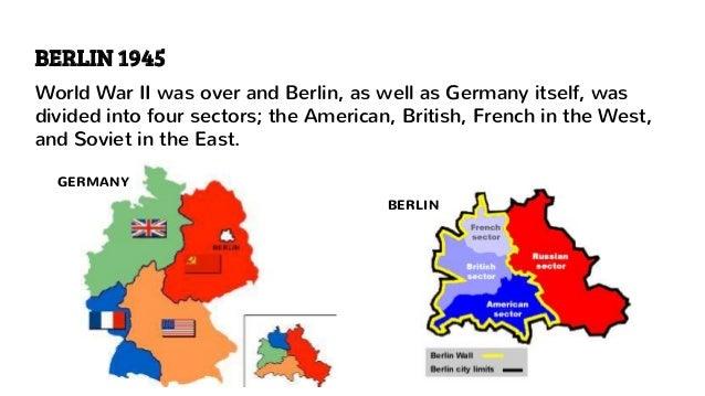 Map Of Germany 1960.Berlin Wall 1960 S