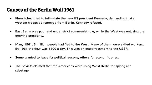 Berlin wall essays