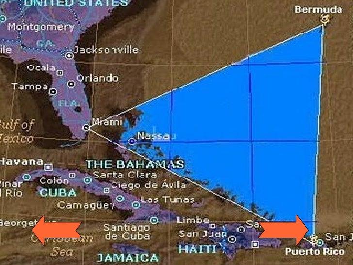Die Triangle-BereichDie Grenzen des Dreiecks Abdeckung der Straße von  Florida, die Bahamas und die gesamte Karibik-Insel-...