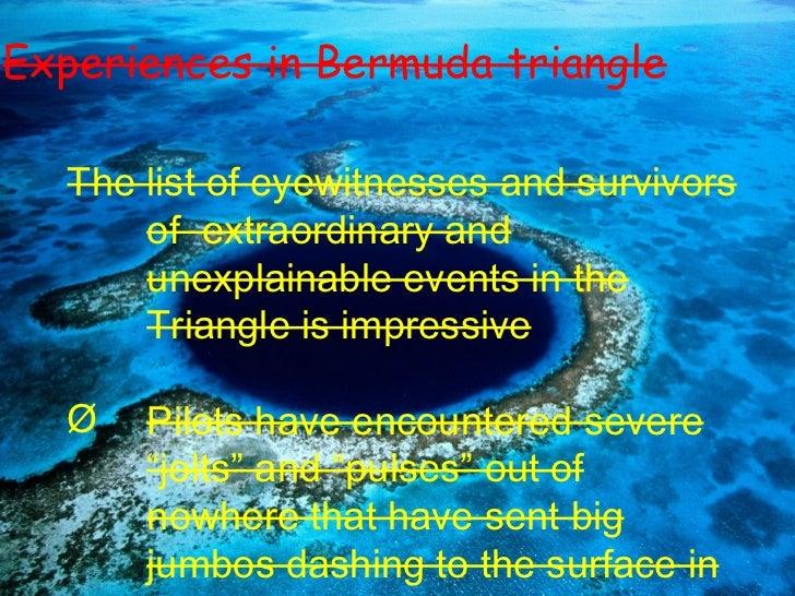 how to draw bermuda triangle