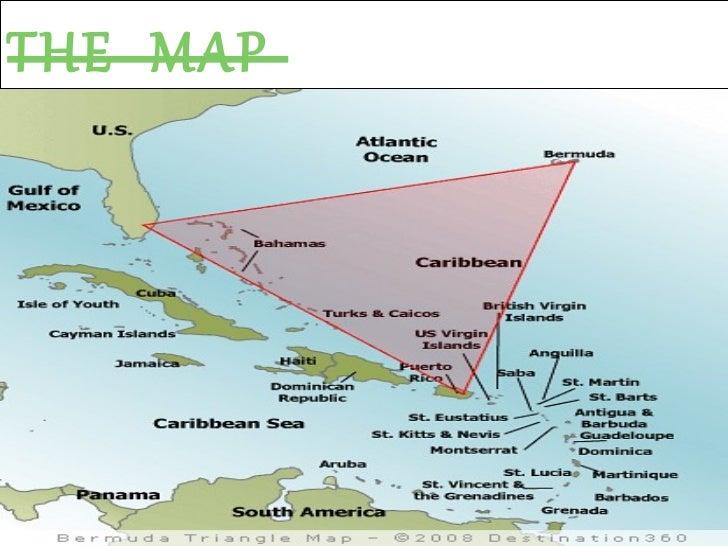 Bermuda Triangle: Map Of Bahamas And Bermuda Triangle At Usa Maps