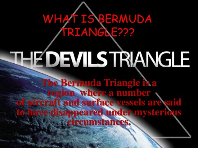 Image result for what actually happens in bermuda triangle