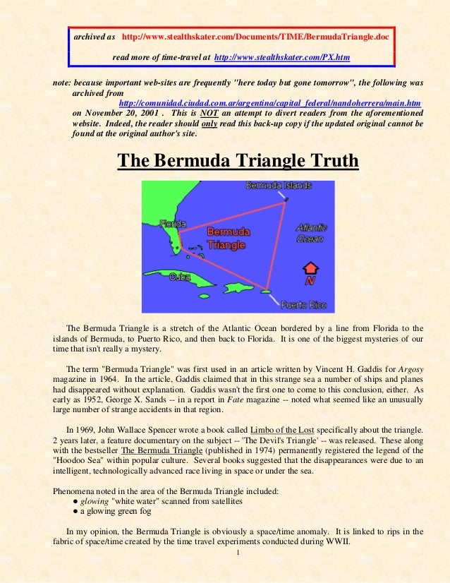 1 archived as http://www.stealthskater.com/Documents/TIME/BermudaTriangle.doc read more of time-travel at http://www.steal...