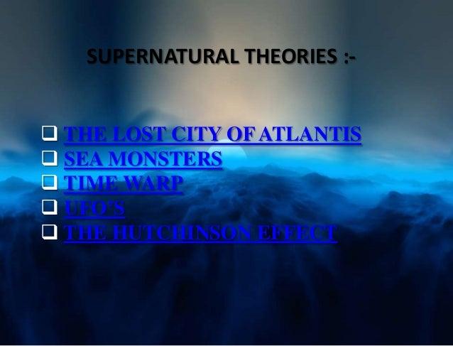 bermuda triangle atlantis theory