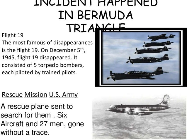 a research on the southern florida phenomenon the bermuda triangle The triangle covers the area just off the coast of florida to puerto rico and the island of bermuda planes and ships have disappeared there in a number of high profile cases over the years.