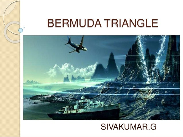 Bermuda triangle persuasive speech