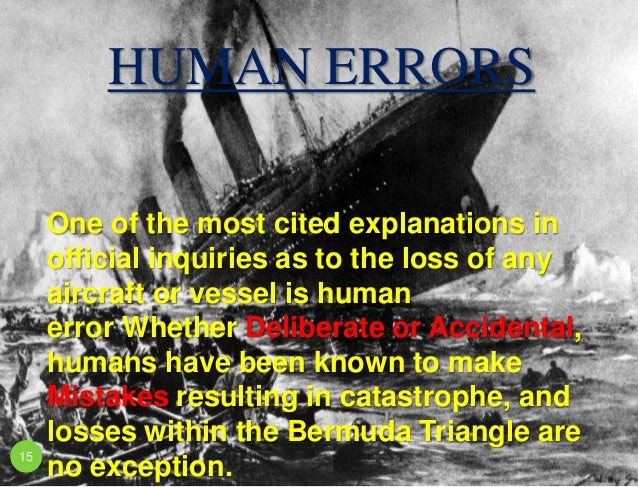 Exploring Mysteries of the Bermuda Triangle