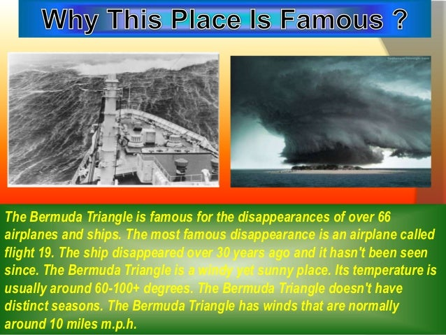 bermuda triangle mystery or miracle the bermuda triangle has winds that are normally around 10 miles m p h 4