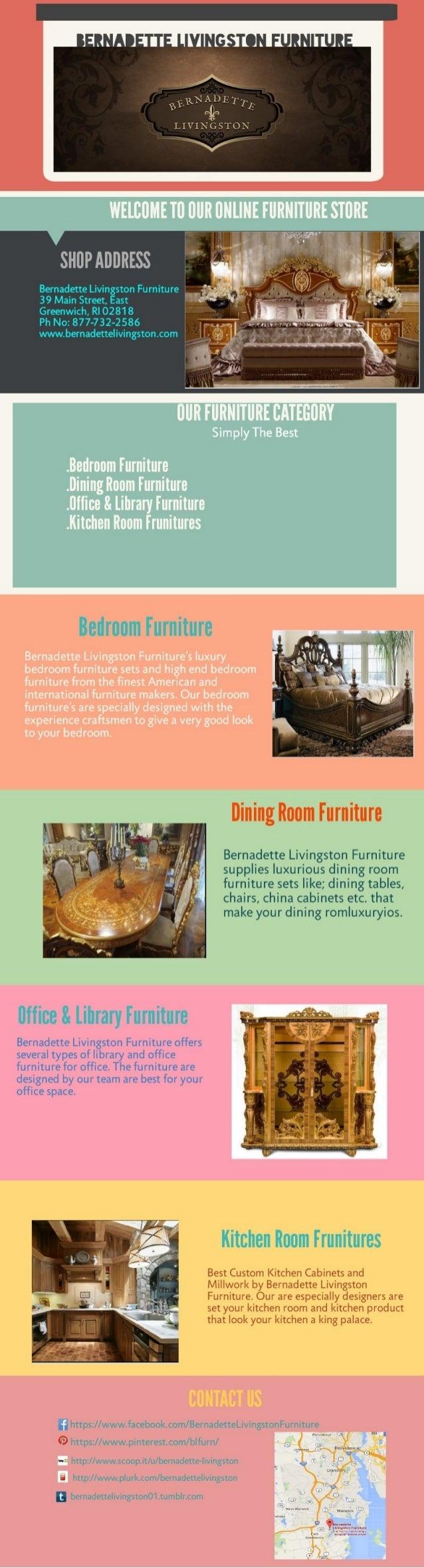 LIVI; U0027ESu0027lu0027O. U0027 SHUP ADDRESS Bernadette Livingston Furniture U0027
