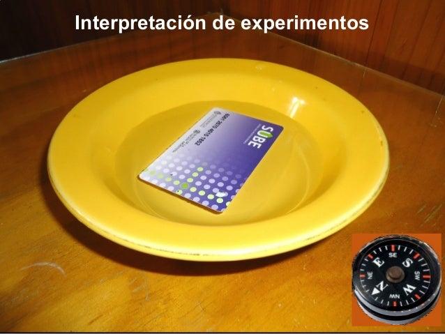 Interpretación de experimentos