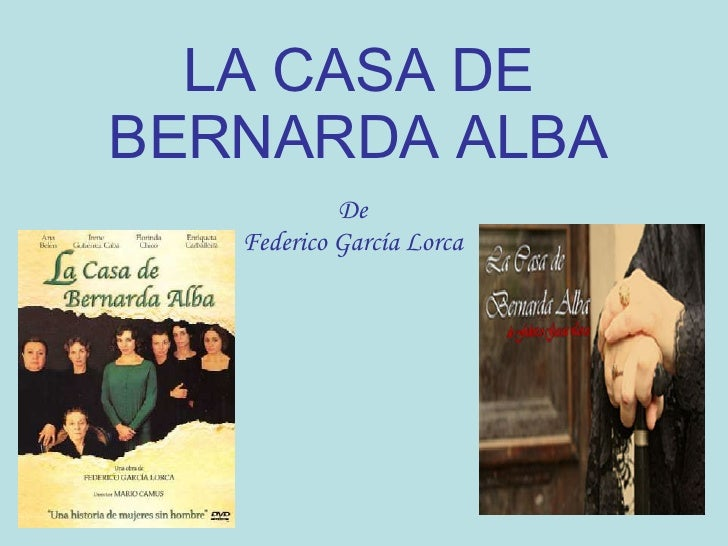 bernarda alba essay questions The house of bernarda alba essays posted in skin care | 0 comments essay on respect of teachers in english zika virus university of chicago essay questions 2013.