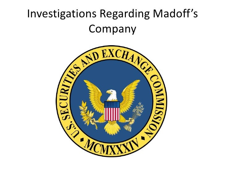ethics in business the bernard madoff investment scandal Ethical behavior in financial market transactions) 4 see, eg, josé  multiple  sec investigations of bernard l madoff investment securities  llc (bmis)   honest business practices7 estimates of the amount of money stolen from  investors.