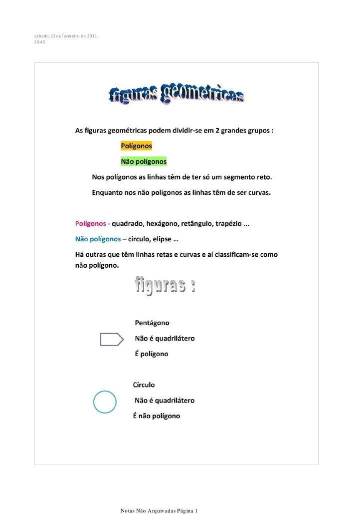 sábado, 12 de Fevereiro de 201120:45                                  Notas Não Arquivadas Página 1