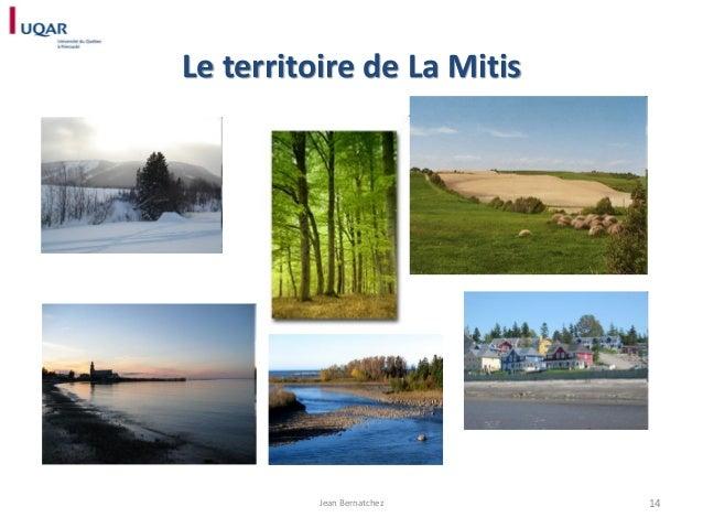 Le territoire de La Mitis  Jean Bernatchez  14