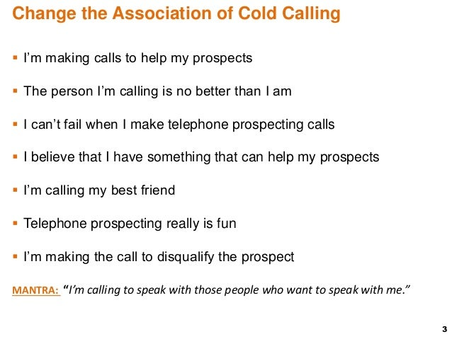 how to make cold calls for appointment