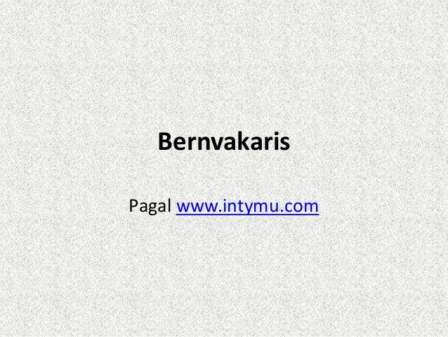 BernvakarisPagal www.intymu.com