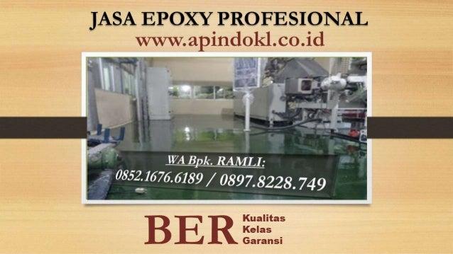 Berpengalaman | aplikator jasa epoxy di Koja Jakarta Utara