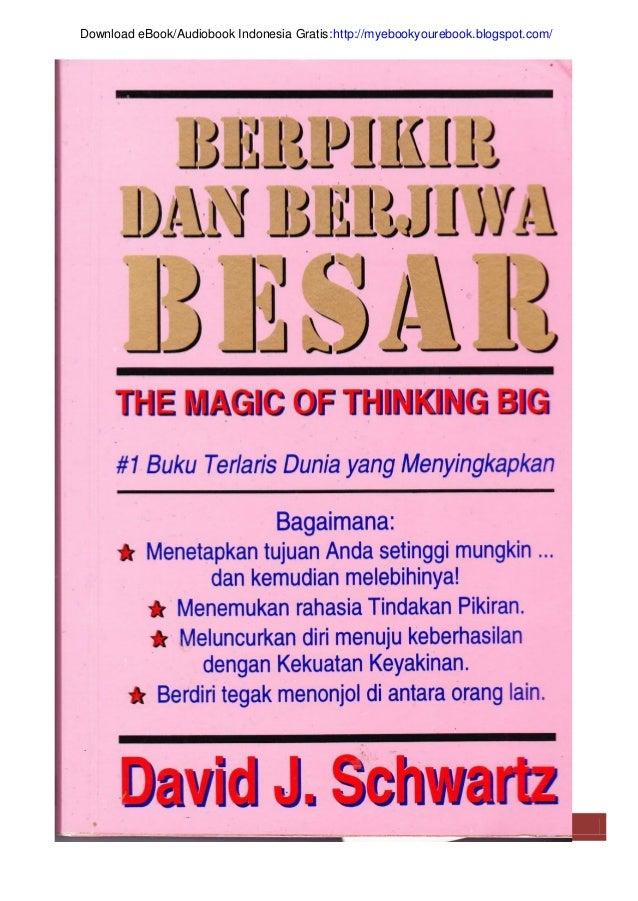 | Berpikir dan Berjiwa Besar 1 Download eBook/Audiobook Indonesia Gratis:http://myebookyourebook.blogspot.com/