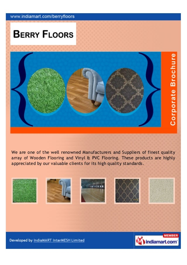 We are one of the well renowned Manufacturers and Suppliers of finest qualityarray of Wooden Flooring and Vinyl & PVC Floo...
