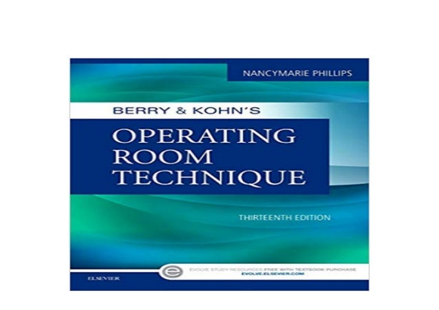 berry and kohns operating room technique free download