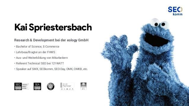 KaiSpriestersbach Research & Development bei der eology GmbH • Bachelor of Science, E-Commerce • Lehrbeauftragter an der F...