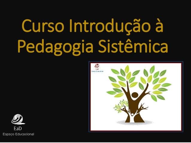 Curso Introdução à Pedagogia Sistêmica
