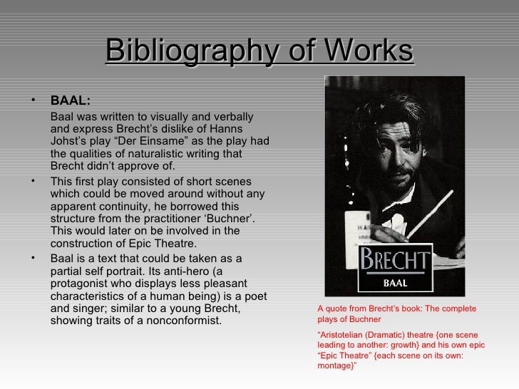 brecht techniques essay How i have used brecht techniques and style in my performance in my performance, my group and i have used an array of brechtian techniques and styles to create a.