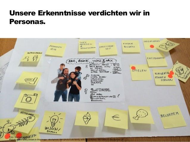 Wir überlegen, welche Inhalte zu Nutzerbe- dürfnissen & Auftraggeberzielen passen. 86 Foto: Stefan Freimark