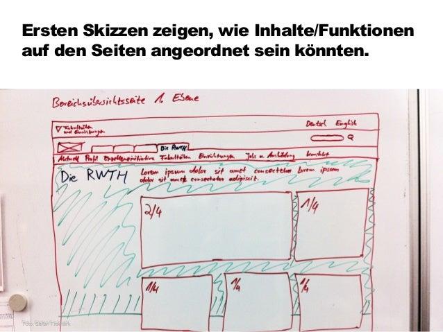 Schleichen sich bei der Gestaltung Fehler ein, geben wir konzeptionelles Feedback. 103 Foto: Stefan Freimark