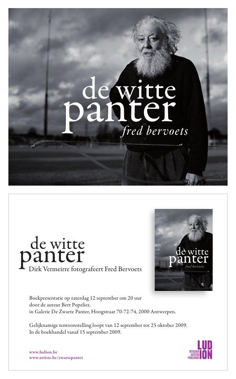 de witte                 panter                    fred bervoets      de witte panter Dirk Vermeirre fotografeert Fred Ber...