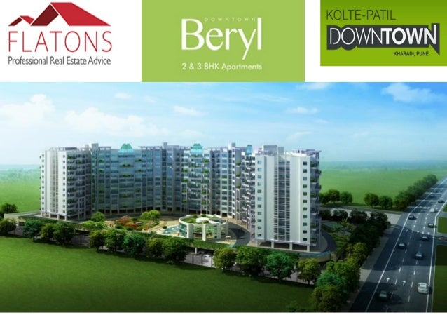 About Beryl: Conveniently located in Kharadi, a posh area of Pune, these apartments offer a breathtaking panoramic view to...