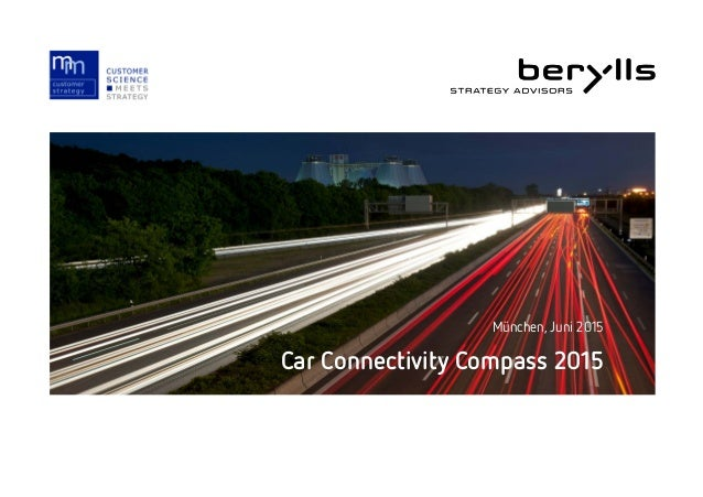 Car Connectivity Compass 2015 München, Juni 2015