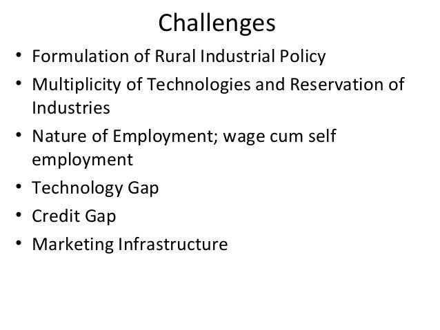problems of industrialisation