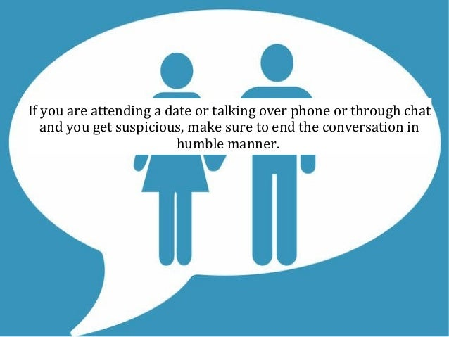 Talking on phone online dating