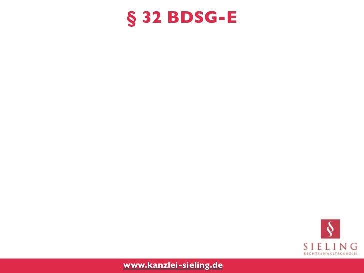 § 32 BDSG-Ewww.kanzlei-sieling.de
